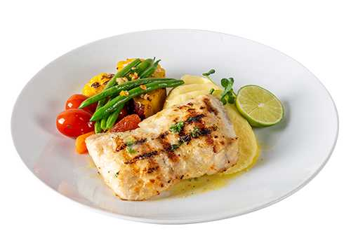 BARAMUNDI FILLET (200g): GRILLED FISH