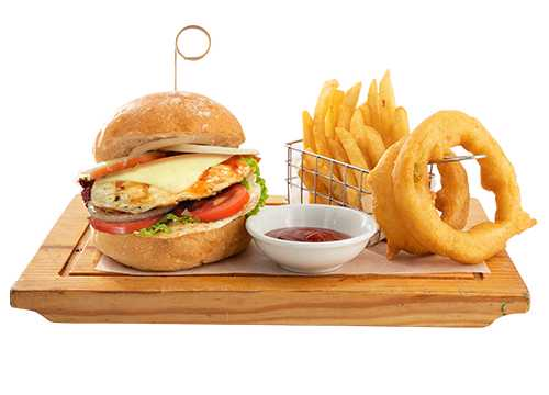 CHEESE BURGER (CHICKEN)