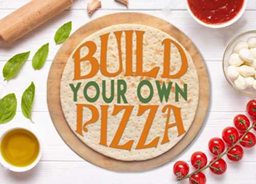 #12 BUILD YOUR OWN or 1/2 & 1/2 PIZZA