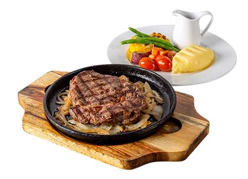 NZ SIZZLING RIB EYE STEAK (250G)