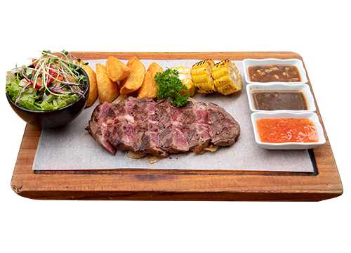 CHEF'S SLICED STEAK (200g)